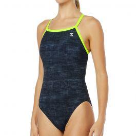 TYR Γυναικείο μαγιό ολόσωμο Sandblasted Diamondfit Swimsuit